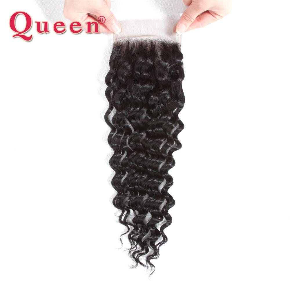 Pelo de Reina ondulado profundo peruano cabello humano tejido libre/medio Cierre de malla con división con pelo de bebé mezcla 3 mechones para cabello Remy de cabeza completa