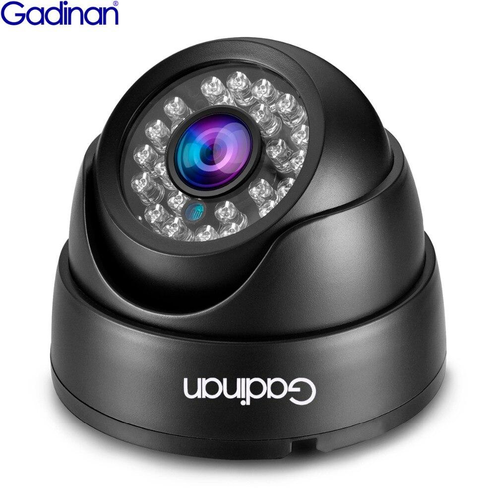 Cámara Gadinan AHD 2,8mm gran angular 1080P 720P CCTV seguridad AHDH cámara HD 1MP 2MP visión nocturna cámara interior Filtro de corte IR