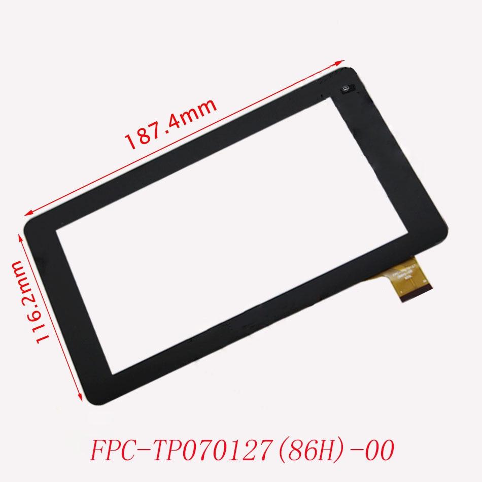 Cristal digitalizador de pantalla táctil de 7 para FPC-TP070127 (86 H)-00 negro