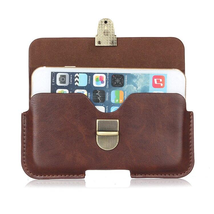 Bolsa de cinturón de cuero delgada, funda para teléfono, funda para LG L Bello D335 D331 D337/G4 Beat G4S H731 H735 H736