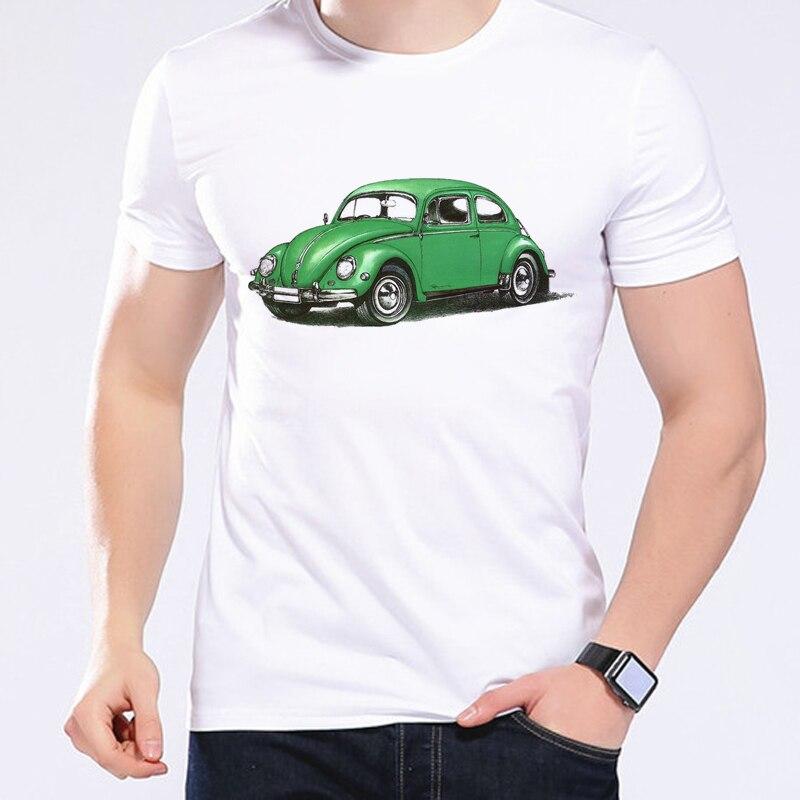 Novedad de 2020, moda para hombres, 1957, diseño Retro de dibujos animados con estilo de coche, ropa de marca hípster, Camisa Masculina L2-56