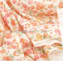 High quality imported plain cotton fabric, digital printing manual DIY, clothing dress baby clothes