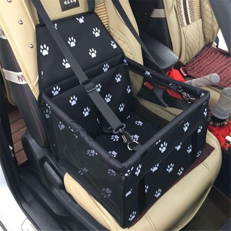 Transportín para perros y mascotas, protector para asiento de coche Transportín seguro para casa, gato, cachorro, bolsa de viaje para coche, cesta para perros, cesta, productos para mascotas