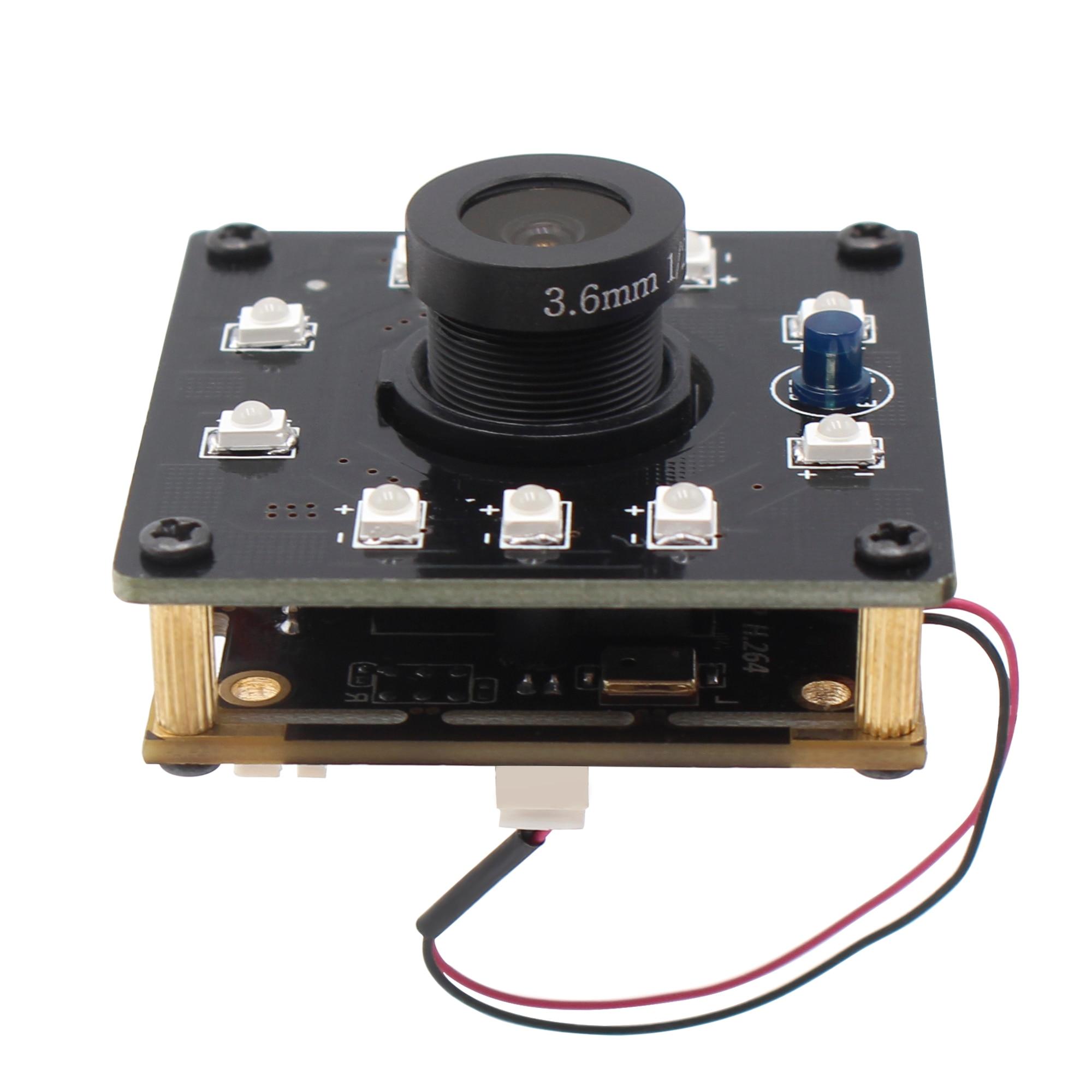 ELP 5mp 2592X1944 alta velocidad Aptina MI5100 HD MJPEG IR CUT infrarrojo visión nocturna Usb Cmos módulo de cámara