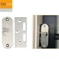 New design Sliding door lockVertical bolt latchHook lockfor wooden door aluminum alloy dooreasy to installhome hardware