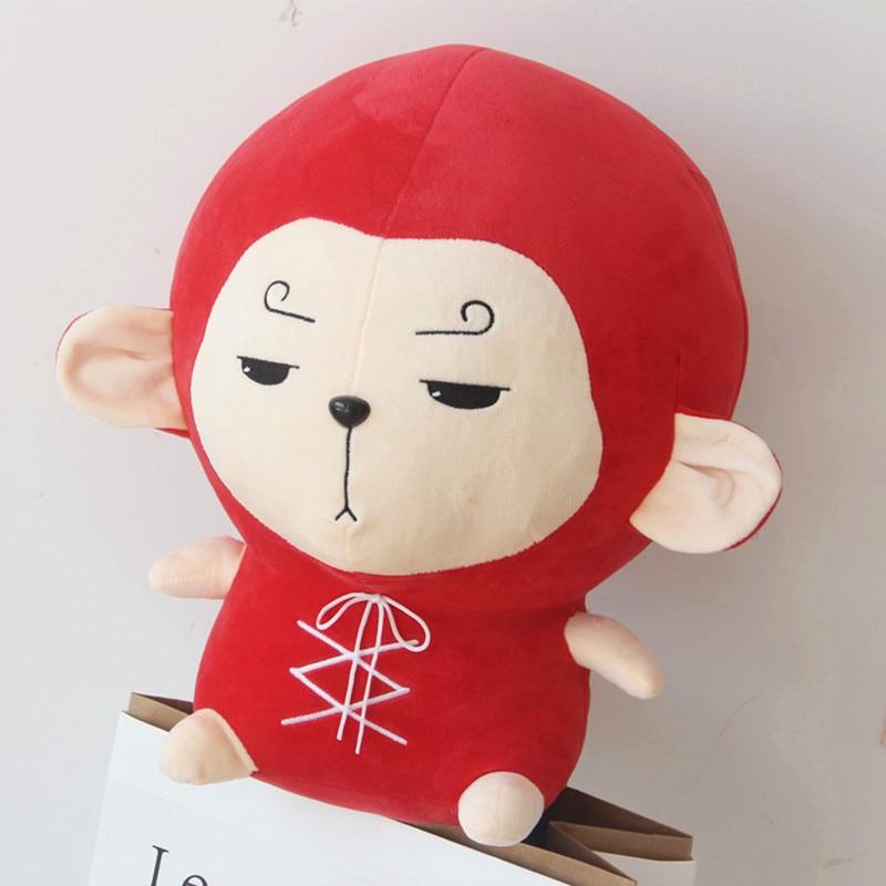 Korean TV Flower Travel kdrama Stuffed toys Hwayugi Monkey Kawaii Pillow Goku Plush Toy Stuffed doll free shipping