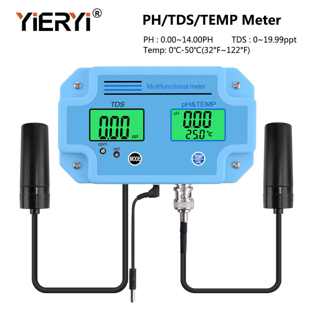 Yieryi PH-2983 cyfrowy LED PH i miernik tester tds z 2 w 1 do monitorowania wysokiej dokładności sprzęt narzędzia