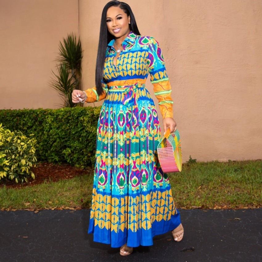 Robes africaines pour femmes Robe Africaine 2019 vêtements africains Dashiki mode impression tissu longue Robe Maxi afrique vêtements