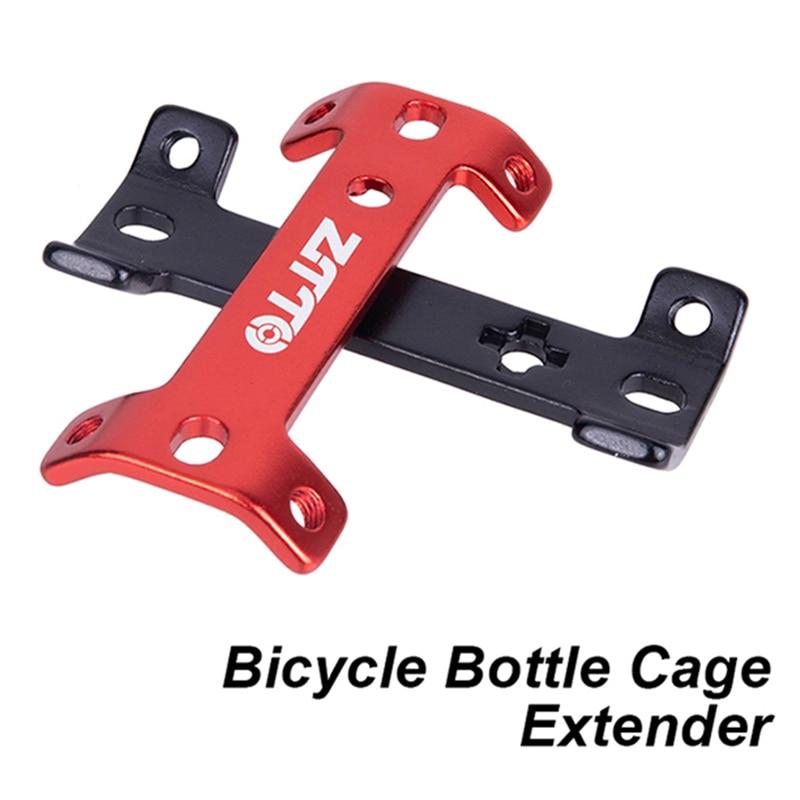 ZTTO-extensor de portabotellas con doble cabezal para bicicleta de montaña, extensor de portabotellas de aleación de aluminio para bicicletas de carretera