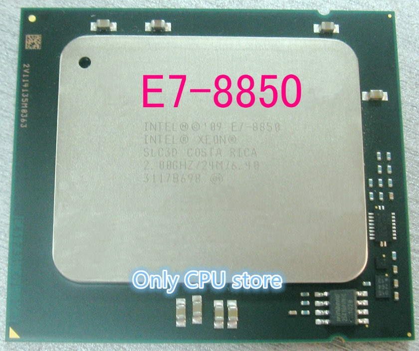 Procesador LGA1567 8850 W LGA1567, E7-8850 Original Intel Xeon E7 2,0 GHz, 24MB, 10 núcleos, 32nm