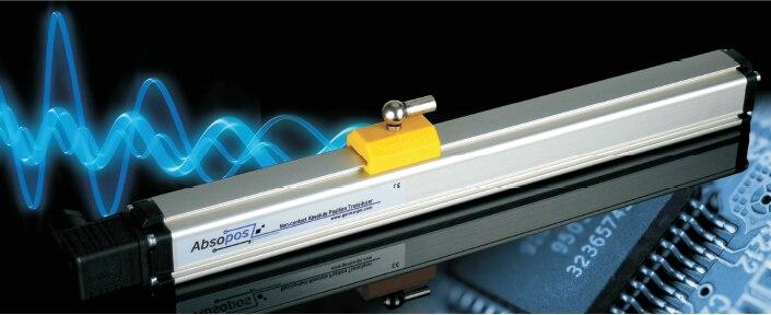 Capteur de déplacement magnétostrictif Germanjet Deminzi règle électronique bande magnétique 180 série sans contact
