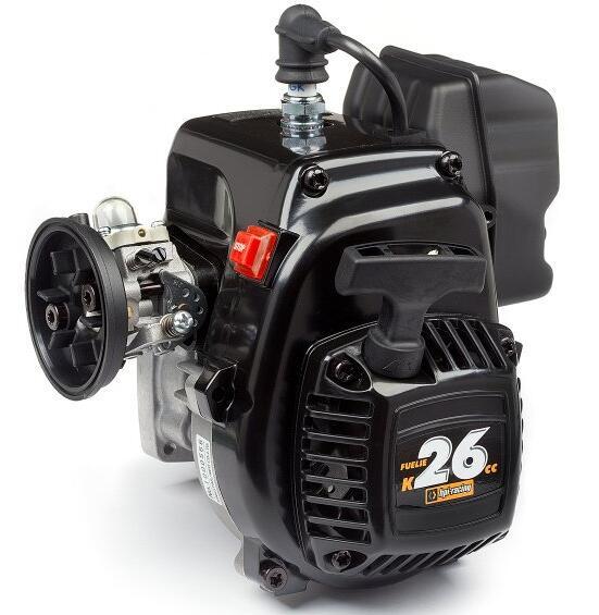 Chung yang 26cc motor de gasolina para IPH 5T 5B 5SC SS Flujo de descarga para LOSI