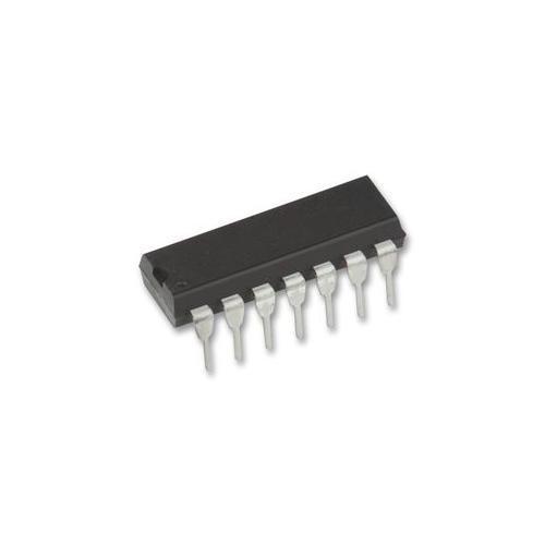 10 PÇS/LOTE NOVO SN74LS02N 74LS02N DIP-14 Entrada Gate NAND Positivo Chip IC