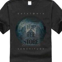 Katatonia Sanctitude gömlek S M L Xl Xxl Tshirt resmi Metal Rock grubu T Shirt tişört marka 2019 erkek siyah