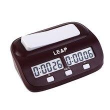 Compacte Digitale Schaakklok Count Up Down Timer Elektronische Board Game Bonus Competitie Master Toernooi Gratis