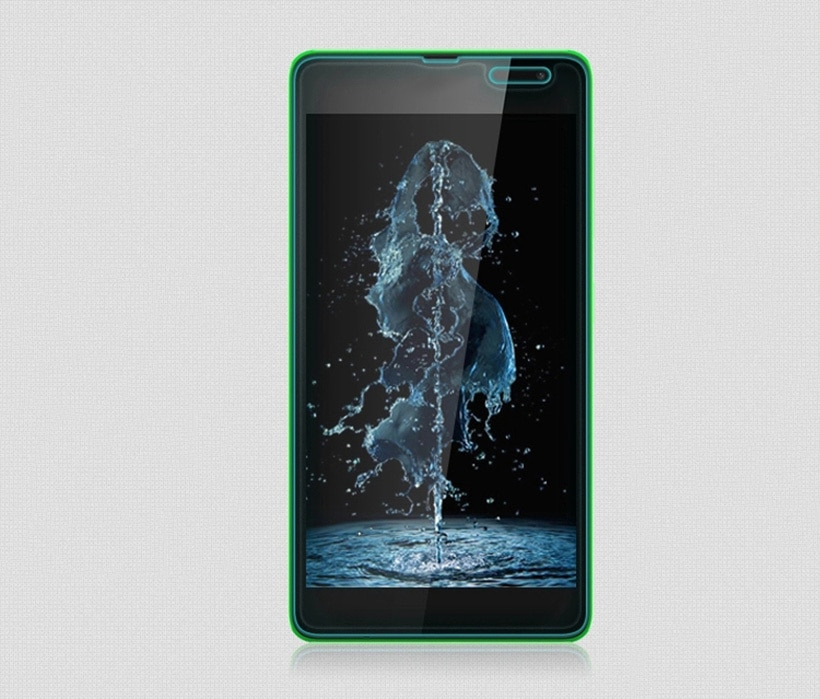 2 piezas para vidrio Microsoft Lumia 535 Protector de pantalla de vidrio...