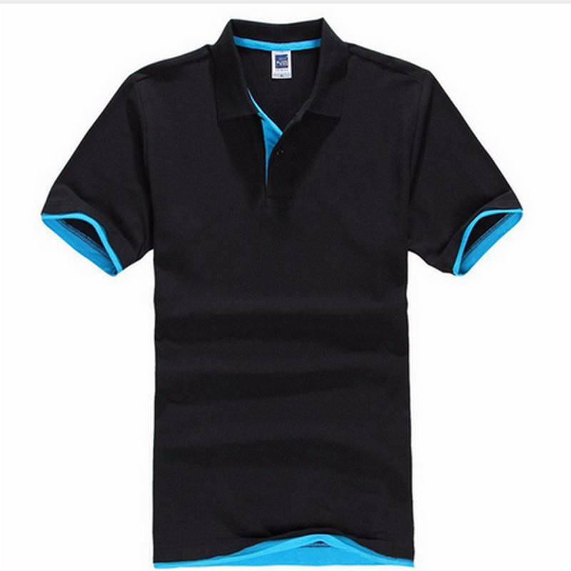 De talla grande XS-3XL nueva camisa de Polo de los hombres de algodón de manga corta Camiseta marcas camisetas Mens camisa Polo camisas