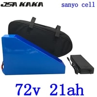 72v lithium battery 2000w 3000w 4000w 72v triangle electric bike battery 72v 14ah 18ah 20ah 25ah lithium battery use sanyo cell