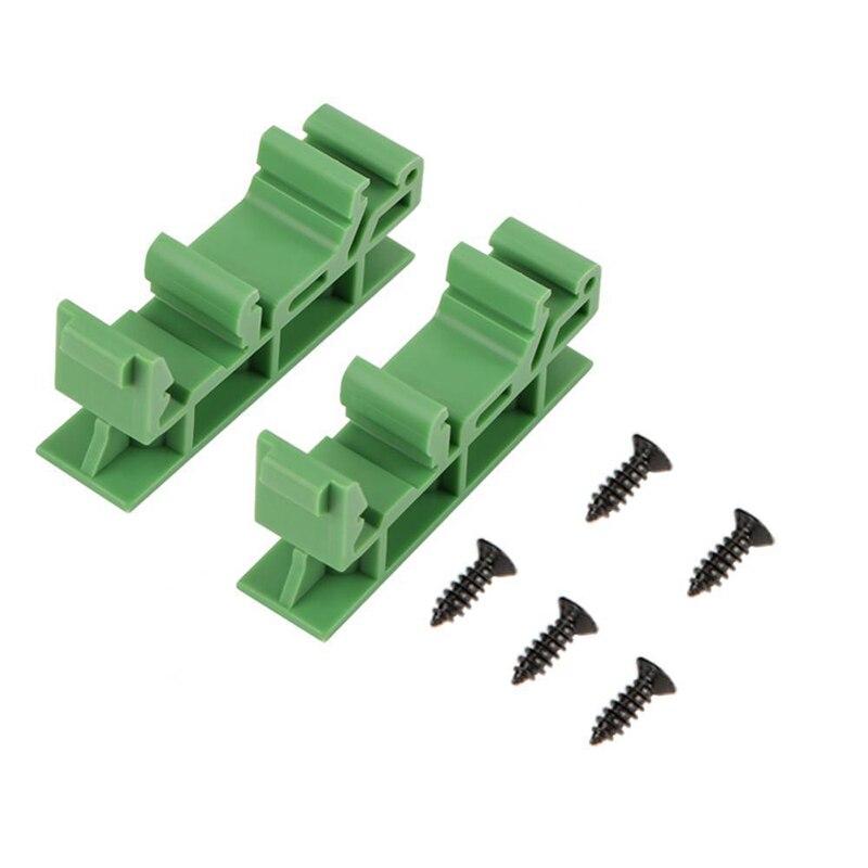 Прочный 10 наборов 35 мм PCB DIN C45 рельсовый адаптер монтажная плата кронштейн держатель переноска товары для дома и сада