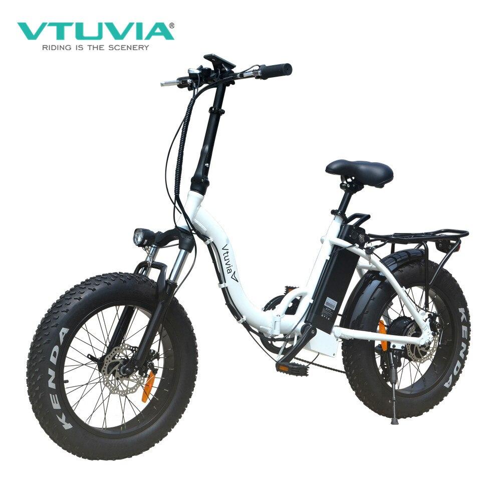 Envío Gratis color negro 20 pulgadas neumático de grasa plegable bicicleta eléctrica 48v 500w e bicicleta de largo alcance ciudad fatbike para el mercado estadounidense