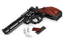 Mylb 300 pièces blocs de construction assemblés série militaire Super grand pistolet Revolver Compatible Legoe jouets éducatifs 22511