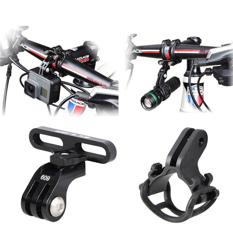 Podpórka rowerowa kierownica Stem góra świecznik rowerowy dla GoPro Hero 8 7 6 5 4 Xiaomi yi 4K Sjcam EKEN akcesoria do aparatu