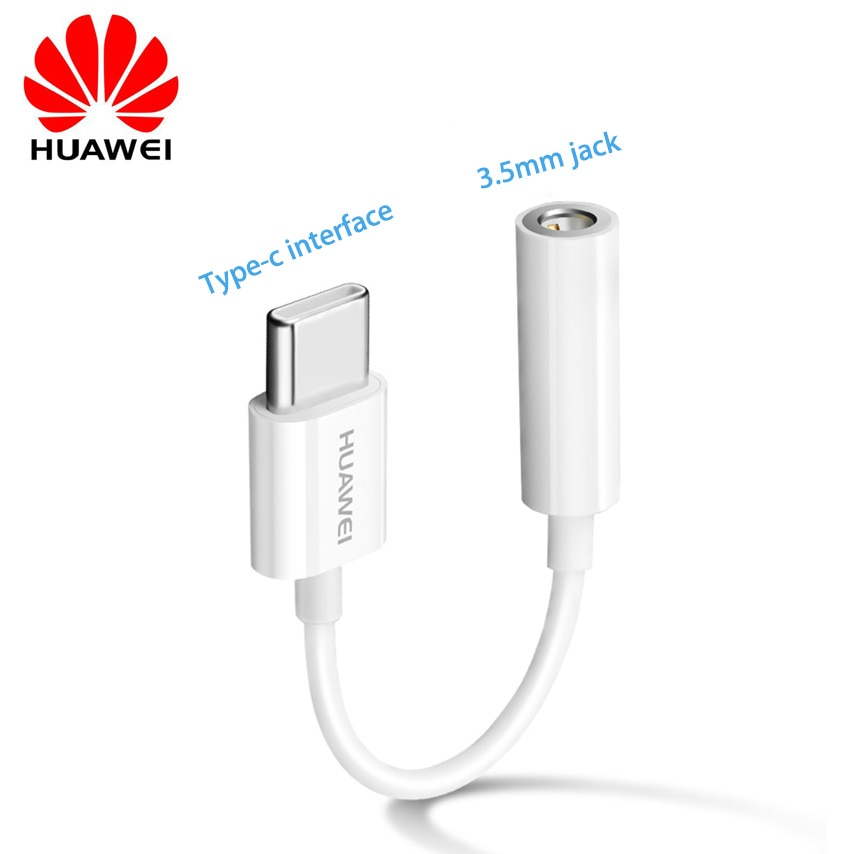 Оригинальный USB Тип C до 3,5 мм разъем для наушников Aux аудио кабель адаптер для наушников для Huawei P30 20 Pro MATE 10 20 RS X конвертер