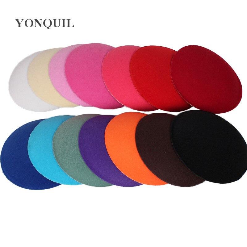 """6.3 """"(17 cm casamento mini início fascinator chapéus festa fascinator bases headpieces millinery diy acessórios de cabelo headwear 1 peças/lote"""