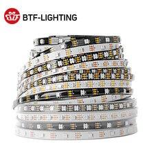 Ws2812b led 스트립 1 m/2 m/4 m/5 m ws2812 스마트 rgb led 라이트 스트립 30/60/74/96/100/144 픽셀/leds/m 블랙/화이트 pcb IP30/65/67 DC5V