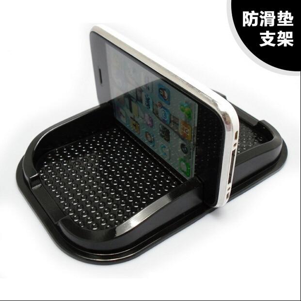Universal Multi-funcional de la pad antideslizante para coche móvil de goma barra adhesiva teléfono Dashboard estante antideslizante Mat GPS MP3 en todo el mundo
