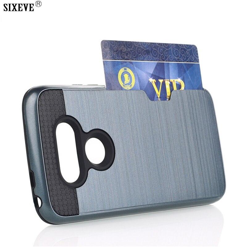 SIXEVE High Quality Shockproof Case For LG G5 G6 K10 V10 V20 V30 Soft Silicone Hard Plastic Cell Phone Casing Back Cover Carcasa
