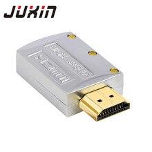 HDMI kabel złącze płaskie opakowanie kabel hdmi kabel HDMI metalowa obudowa wersja 1.4 HDMI męski złota płyta 19Pin przewód świecy lutowane DIY