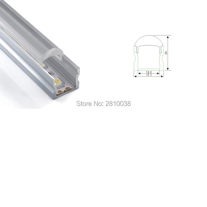500 X 1M Sets/Lot 30 degree corner shape led strip aluminium profile and U profile led channel for wall or ceiling lamps
