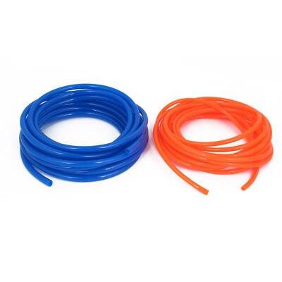 Tubo de tubo flexible neumático de poliuretano de 2 uds azul o naranja