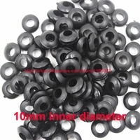 10mm inner diameter rubber wiring hole plug cable seal grommet ring wire gasket