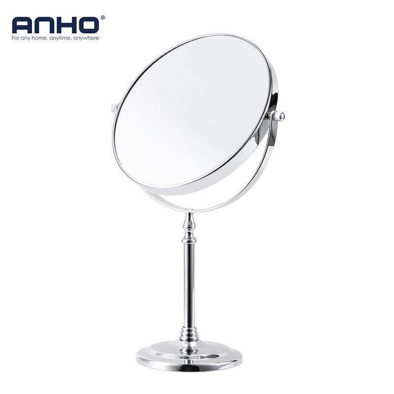 """Make-up Spiegel 8 """"5X 7X 10X Kosmetik Spiegel Desktop Schlafzimmer Doppelseitige Lupe Einstellbare Stand Bad Spiegel 360 Rotierenden"""