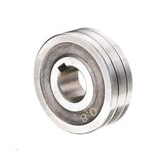 """0,6*0,8 Stahl Schweißer Draht Feed Stick Roller Rolle Teile Kunrled-Nut. 030 """"-. 035 """"Mayitr Rad Kits MIG Roller 30mm Durchmesser"""