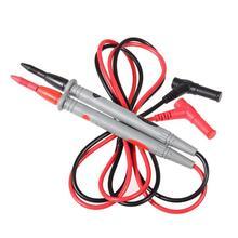 1 paire multimètre sonde Test fils aiguille pointe broche numérique Oscilloscope Multi mètre Test fils stylo câble 20A 1000V Pogo broche