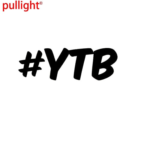 # YTB YEAH la pegatina para niños calcomanía-DRIFT FUNNY JDM calcomanías-pegatina de coche
