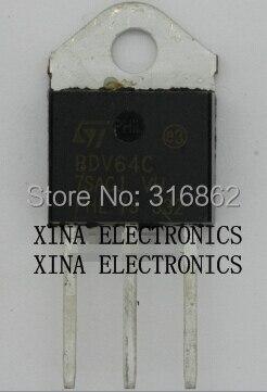 BDV65C BDV64C BDV64 BDV65 TO-3P ROHS ORIGINAL 10 Pçs/lote 5 + 5 kit composição Eletrônica Frete Grátis