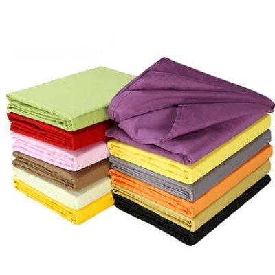 Solid Bedclothes Colcha Solteiro Cobre Leito Casal Single Sheet Cheap But High Quality Jogos De Lencol Queen Polyester Coverlet