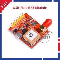 52Pi USB to GPS Converter USB-Port-GPS Module for Raspberry Pi 3 Model B / Pi 2 B