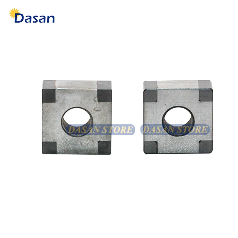 1pcs SNMG120404 SNGA 120408 CBN nitruro de boro CNC hoja de carburo para hierro fundido de acero duro