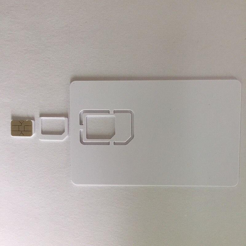OYEITIMES 4G Programable Blank SIM Card GSM WCDMA LTE SIM Card 2FF/3FF/4FF With COS ICCID IMSI KI OPC(OP) SIM Card For Operator enlarge