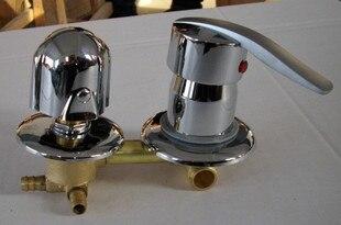 Cabine de duche de chuveiro válvula misturadora 2/3/4/5 caminho de saída de água torneira do chuveiro, acessórios de banho com duche