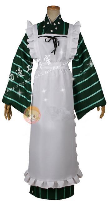 ¿Gochuumon wa Usagi Desu ka? ¿El pedido es un conejo? Chiya Ujimatsu Cosplay traje E001