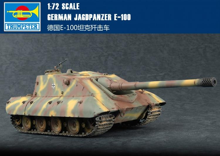 RealTS trompetista 1/72 07122 alemán Jagdpanzer E-100