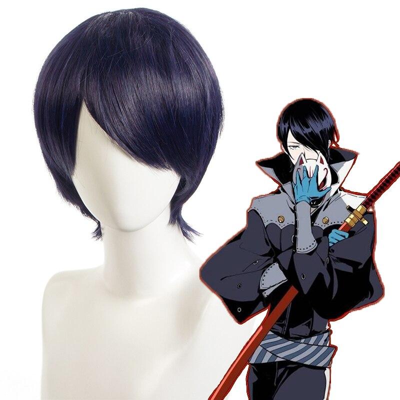 Anime Persona 5 die Animation Cosplay Perücken Yusuke Kitagawa Cosplay Hitze Beständig Synthetische Perücke Haar Halloween Party Spiel Perücke