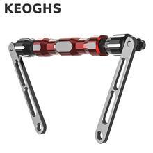 Keogh-poignée de moto Crossbar/light Phone   Rallonge de tige déquilibre de haute qualité pour Honda Yamaha Suzuki Kawasaki moto