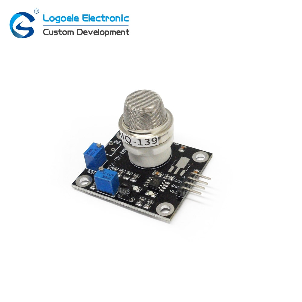 MQ-139 R134A TTL salida de nivel MQ139 Freon Módulo de sensor de detección salida analógica